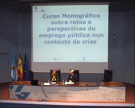 A estruturación do emprego público e a dualidade de réximes do persoal ao servizo das Administracións públicas, cunha especial referencia ao persoal directivo  - Curso Monográfico sobre retos e perspectivas do emprego público nun contexto de crise